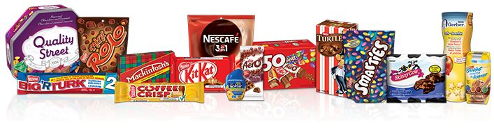 Sample Nestlé Products